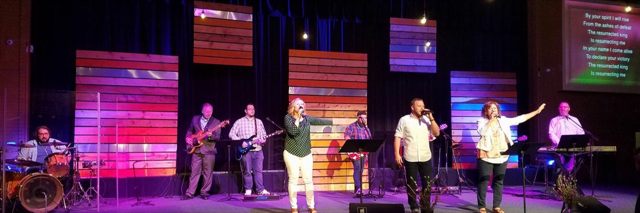 Nav Worship team